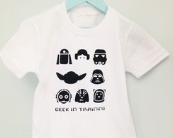 CAMISETA GEEK IN TRAINING CARAMELITO INF