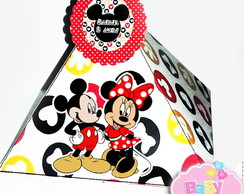 Cone Pirâmide Mickey e Minnie