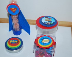 Kit Personalizado Super-Heroi