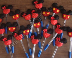 Caneta Minnie e Mickey