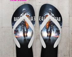 Chinelo Game Battlefield Personalizado