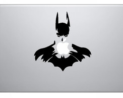 Skin Adesivo Batman Macbook Notebook