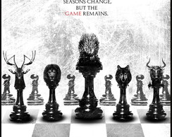 Poster Adesivo Game of Thrones