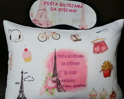 Kit Festa do Pijama Paris Personalizados