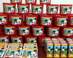 Kit pipoca a Casa do mickey mouse
