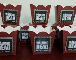 Cachepos de papel the walking dead