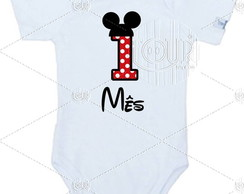 Body Mesversario Mickey Mv049 Avulso
