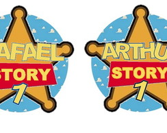 50 Tags Personalizadas Toy Story