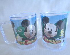 Caneca Casa do Mickey