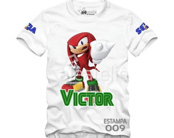 Blusa Sonic Tails Amy Personalizada