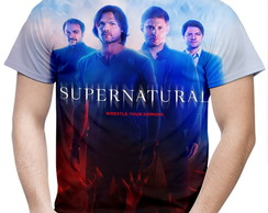Camiseta Masculina Supernatural MD02