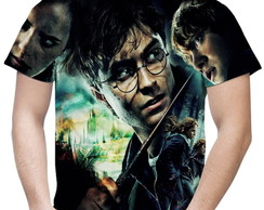 Camiseta Masculina Harry Potter