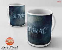 Caneca Personalizada Super Natural