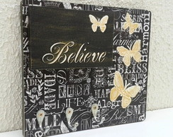 Porta chaves / colar BELIEVE