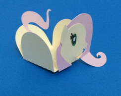 Forminha little Pony - Fluttershy