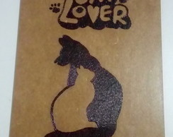 Quadro Decorativo MDF - Dog e Cat Lover