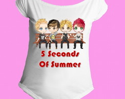 Camiseta 5 seconds of summer canoa 02