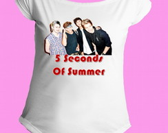 Camiseta 5 seconds of summer canoa 03