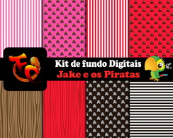 Kit Digital - Jake e os Piratas