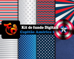 Kit Digital - Capitão América 2