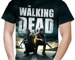 Camiseta Masculina The Walking Dead MD02
