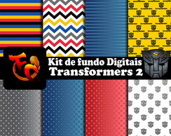 Kit de fundos Digitais - Transformers 2