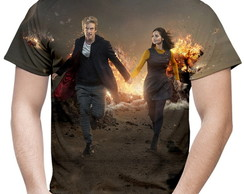 Camiseta Masculina Doctor Who MD03