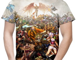 Camiseta Masculina League Of Legends MD2