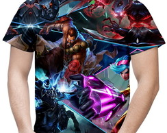 Camiseta Masculina League Of Legends MD3