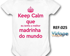 body bebe personalizado keep calm