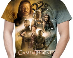Camiseta Masculina Game of Thrones MD03