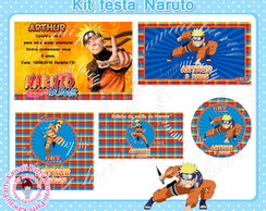 Kit festa digital Naruto