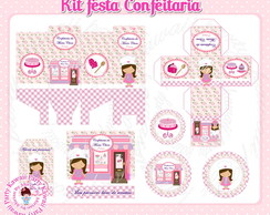 Kit festa digital confeitaria