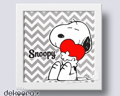 Quadrinho Decorativo Snoopy