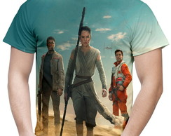 Camiseta Masculina Star Wars VII 7 MD01