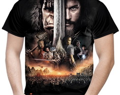 Camiseta Masculina Warcraft MD02