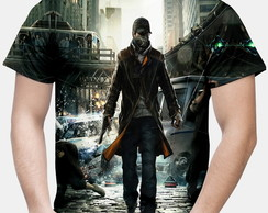Camiseta Masculina Watch Dogs