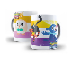 Caneca Pokemon Sun e Moon