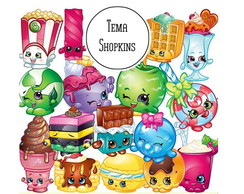 Festa Kit Digital Shopkins