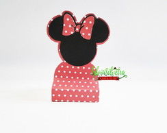 Caixa para chocolate com tag Minnie