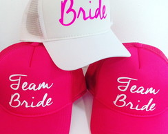 Boné Bride e Team Bride