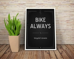 Poster Bicicleta - Bike Always A2