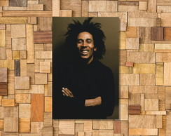 Placa Decorativa Bob Marley