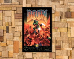 Placa Decorativa DOOM