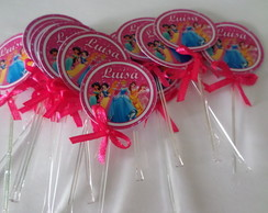 Toppers Personalizados as princesas