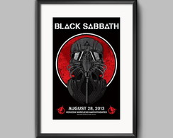 Pôster Live in CA / Black Sabbath