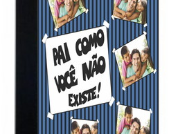 Agenda do Papai Personalizada com Fotos