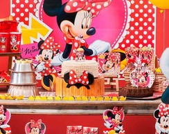 Kit Festa Minnie Vermelha