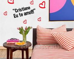 Adesivo Românticos Frase Te Amo Muito Elo7