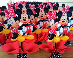 centro de mesa mickey e minnie disney